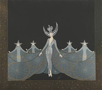 queen of the night by erté