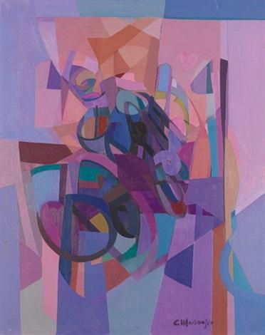 abstrakte komposition by carlo marangio