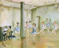 in der ballettschule by hans olde