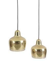paire de lampes, modèle golden bell, (set of 2) by alvar aalto