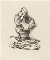 stillleben: begonie by alexander kanoldt