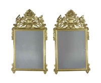 mirrors (pair) by jean mocque