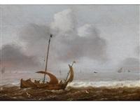 schiff auf stürmischer see by anonymous-dutch (17)