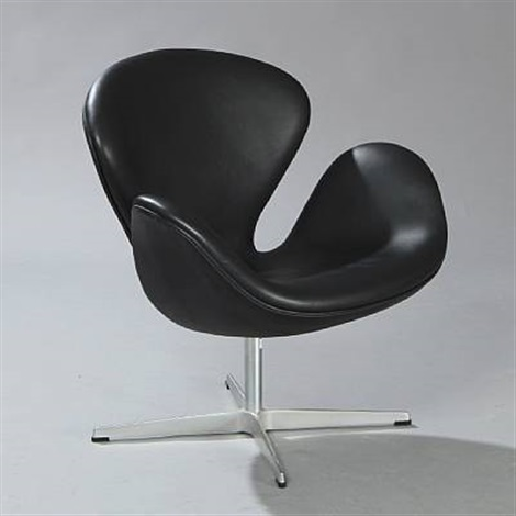 the swan (model 3316) by arne jacobsen