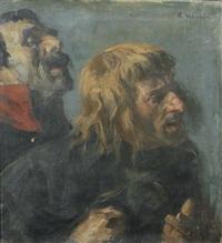 zwei männer by arthur kampf