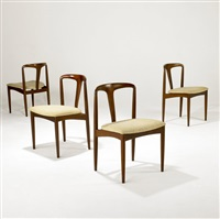 chairs (set of 4) by uldum mobelfabrik