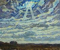 sunlight landscape by matthias m. peschcke-køedt