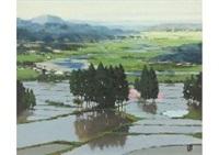 chikumagawa river by takashi asahina
