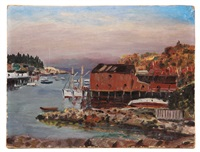 new harbor, maine by parker gamage
