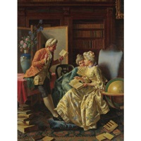 in the library by pio ricci