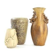 Three Vases By Arne Bang On Artnet