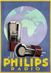 philips radio by louis christian kalff
