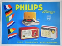 philips radio/flags by elvinger