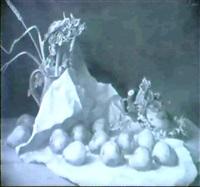 stilleben mit birnen by erich lindenau