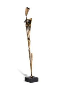 nude female figure by michael fleischer