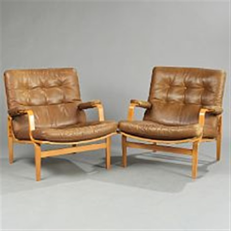Ordinaire Ingrid (pair Of Easy Chairs) By Bruno Mathsson