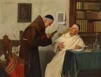 in der klosterbibliothek by alessandro sani