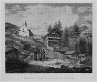 hospitium maria zum schnee auf dem rigi by carl friedrich heinzmann