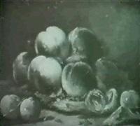 pfirsiche und pflaumen by jeanne antoinette mermet