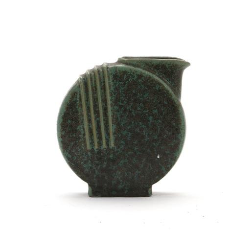 Art Deco Vase Pitcher Of Stoneware By Arne Bang On Artnet
