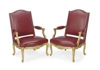 fauteuils (pair) by jean mocque