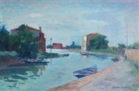 canale a burano by silvio consadori