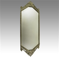 wall-hanging mirror by paul kiss