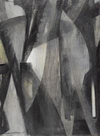 abstrakte komposition by mona lodström