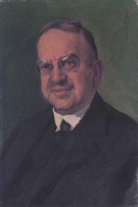 portrait des amtsgerichtsrates ernst levi, frankfurt am main by ottilie w. roederstein