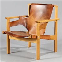 trienna easy chair by carl-axel acking