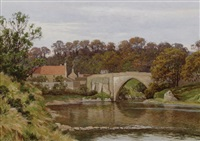 the bridge of don, near aberdeen by william baird