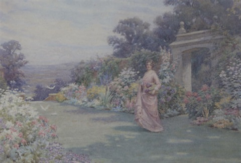 bodnant gardens by william f ashburner