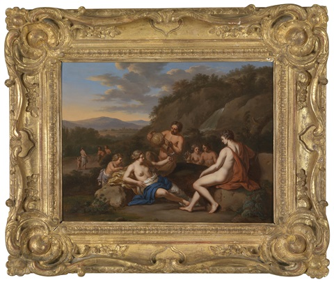 ein bacchanal by gerard hoet the elder