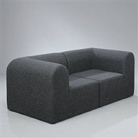 paustian modular sofa (in 2 parts) by erik rasmussen