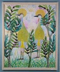 deux oiseaux by mulongoy pili pili