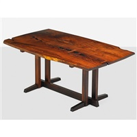rare frenchman's cove dining table by george nakashima