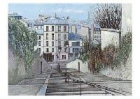 montmartre by h. rolf rafflewski