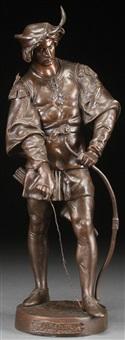 archer by emile louis picault