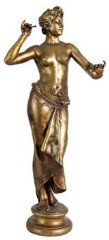 danseuse orientale by alphonse de tombay
