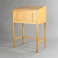 free-standing writing desk by helge vestergaard jensen