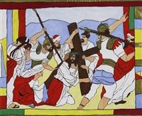 ohne titel - kreuzigung christi by josef wittlich