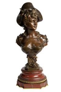 buste de dame by alphonse henry nelson