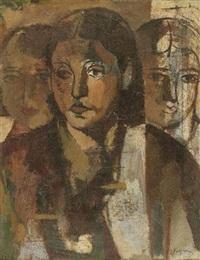 trois études de femmes by alfred figueras
