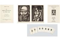 reincarnations du pere ubu (portfolio of 23) by georges rouault