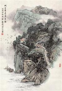 门泊东吴万里船 by liu xun