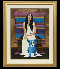 she added color to my life by george rodrigue
