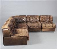 modular sofa (model ds 11) (in 5 parts) by de sede