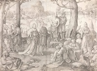 der tanz der hl. maria magdalena by lucas van leyden