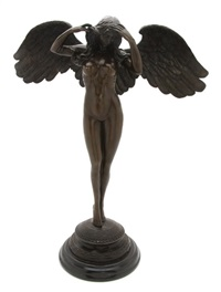 descending night by adolph alexander weinman