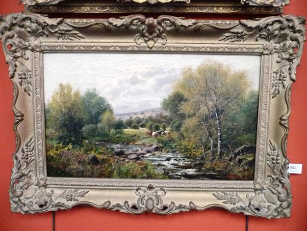 an autumnal day froggat edge derbyshire by john gunson atkinson